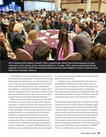Page 43 of Franchising's Impact Runs Deep
