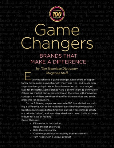 Page 44 of Game Changers: Brands That Make a Difference, Part 2