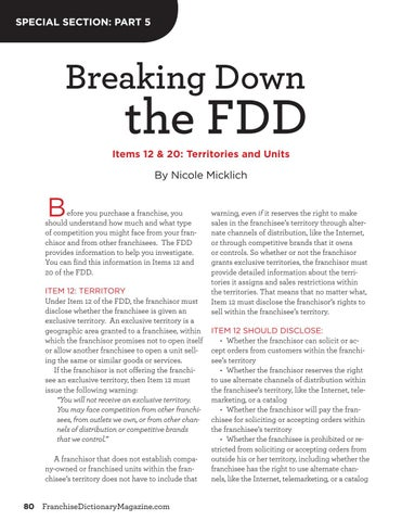 Page 80 of Breaking Down the FDD: Part 5