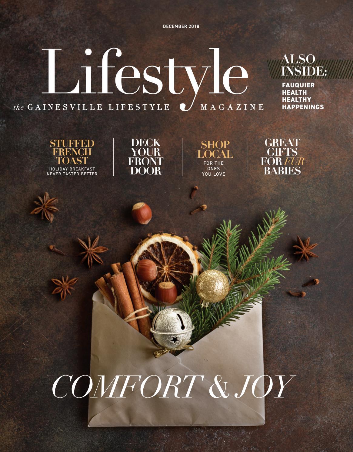 Gainesville Lifestyle Magazine December 2018 by Piedmont Publishing ... a5f174abc26c0
