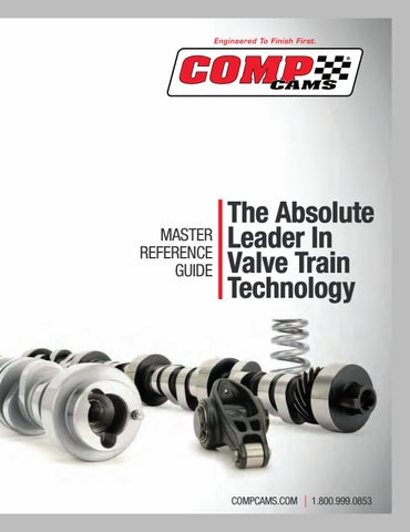 2016 COMP Cams Master Reference Guide by COMP Performance