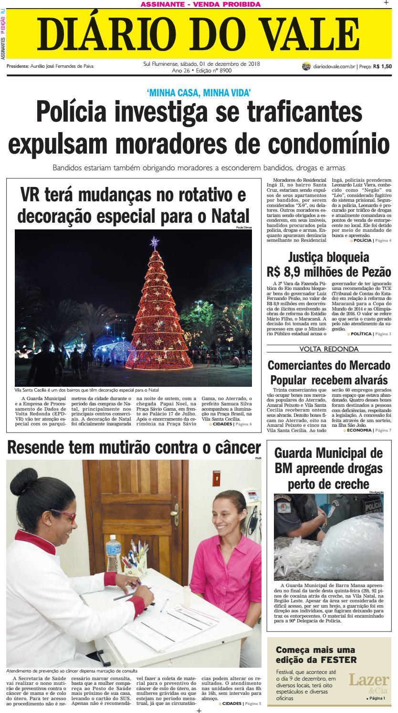 dd5b87ce1ea65 8900 - Diario - Sabado - 01.12.2018 by Diário do Vale - issuu