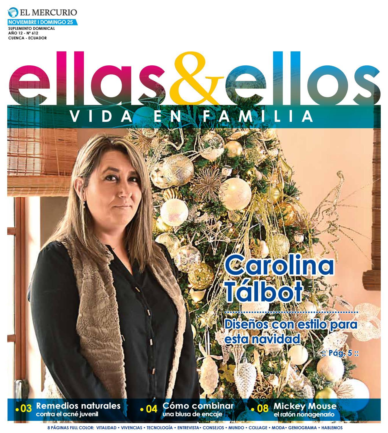 a7455bd88e Suplemento-25-11-2018 by Diario El Mercurio Cuenca - issuu