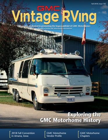 GMC Vintage RVing magazine - Fall 2018 by CEVA Design - issuu