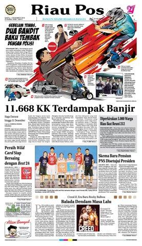 Riau Pos Edisi Sabtu 01 Desember 2018 By Riau Pos Issuu