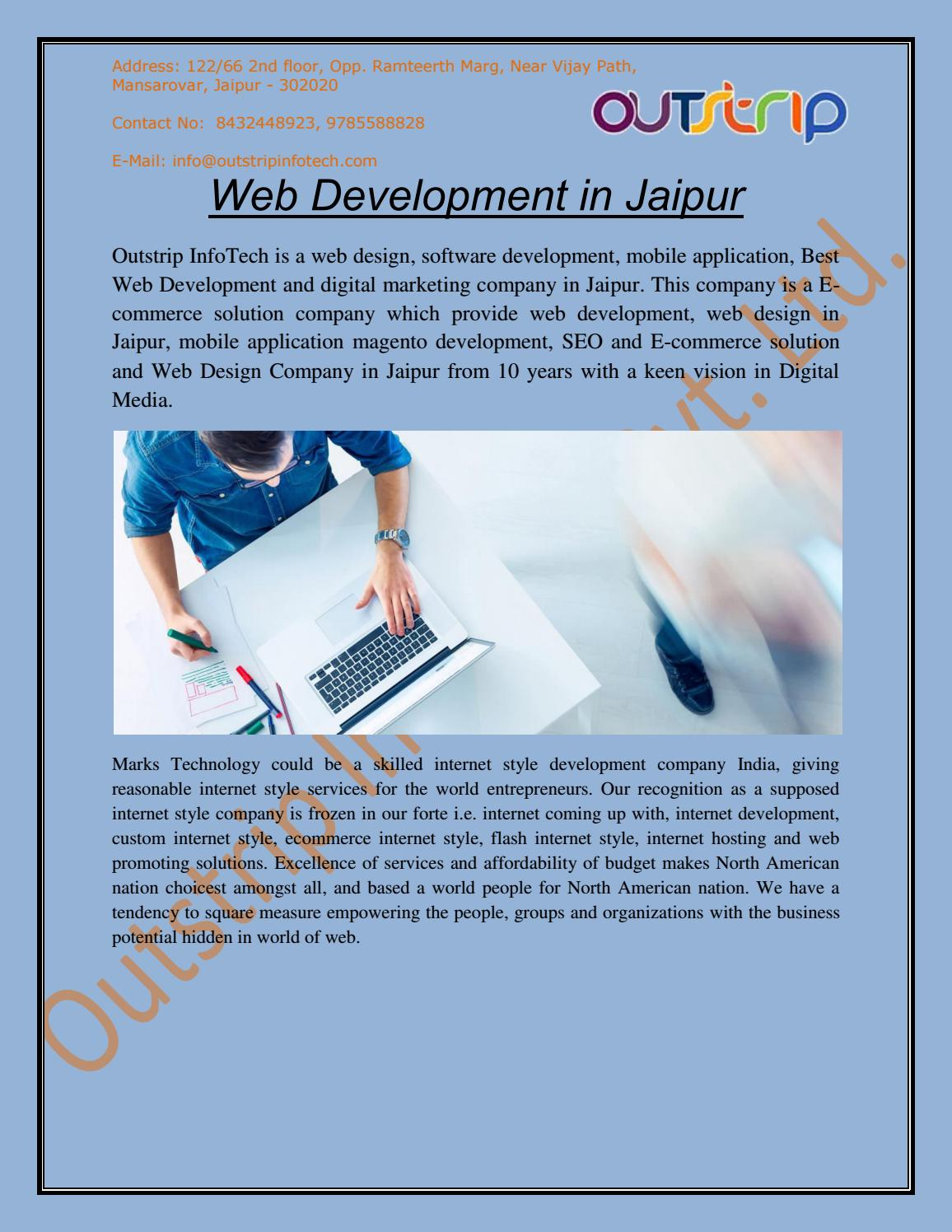 Best Web Development Company in Jaipur, India, and USA by