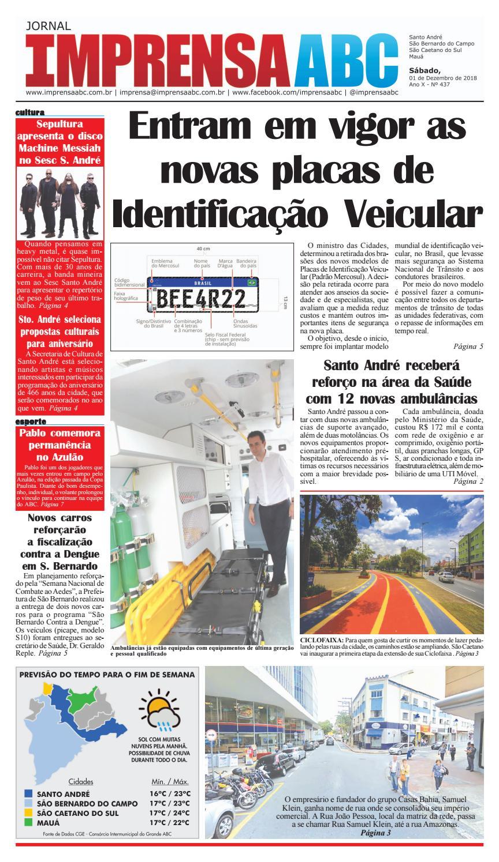 Jornal Imprensa do ABC - Edição 437 by Jornal Imprensa ABC - issuu 4f9bc0e94a7d1