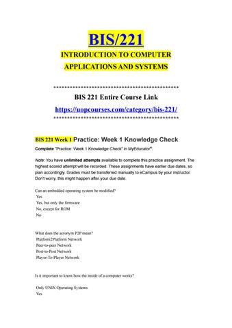 promo code 366a4 53f02 BIS 221 BIS221 bis 221 bis221 Week 1 Apply  Week 1 Exam  https   uopcourses.com category bis-221