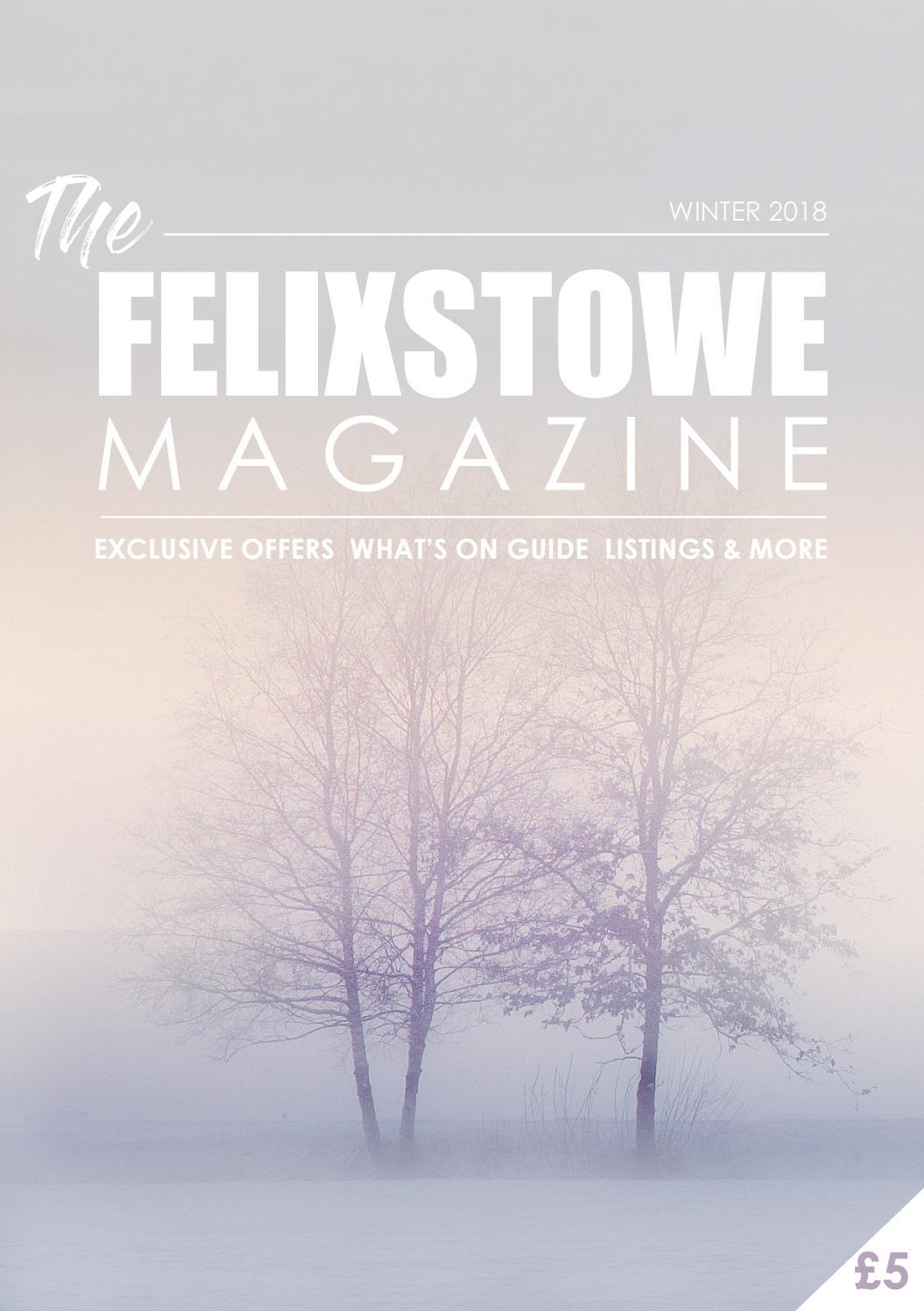 f742d8f7b08a The Felixstowe Magazine - Winter 2018 by Birdy Publications Ltd - issuu