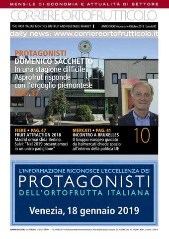 66036a9238 Corriere Ortofrutticolo Ottobre 2018 by Andrea Andre - issuu