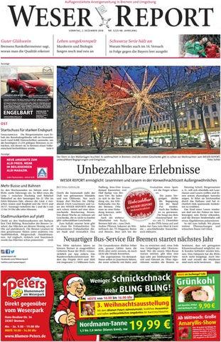 Weser Report - Ost vom 02.12.2018 by KPS Verlagsgesellschaft mbH ...