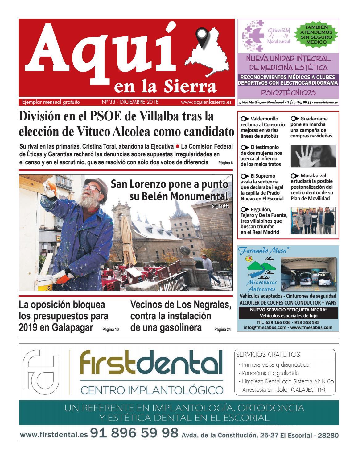 newest a5aea 38cee Aquí en la Sierra - Diciembre 2018 by Aqui en la sierra - issuu