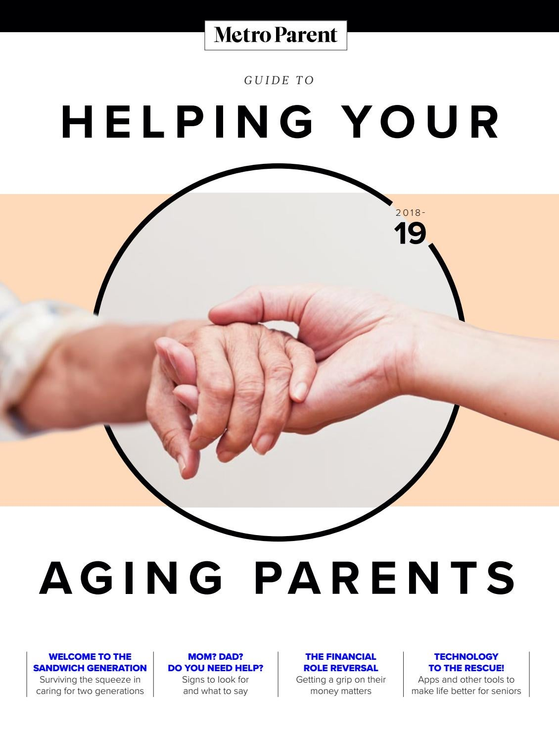 Guide To Helping Your Aging Parents By Metro Parent Issuu