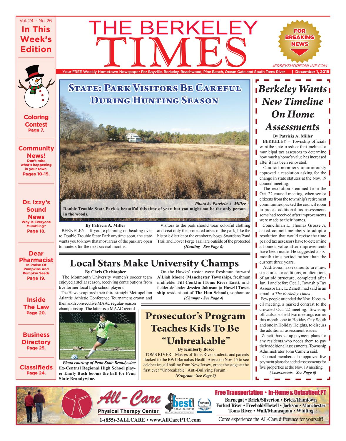 5429fb66962 2018-12-01 - The Berkeley Times by Micromedia Publications Jersey ...