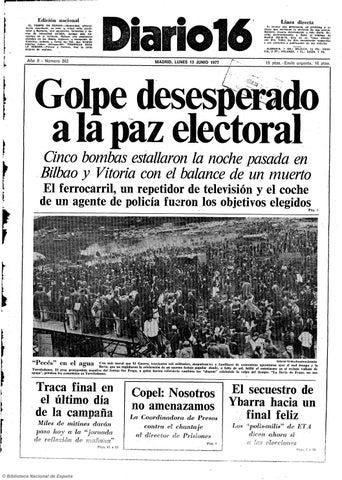 Diario 16 13 6 1977 By Diario16deburgos Issuu