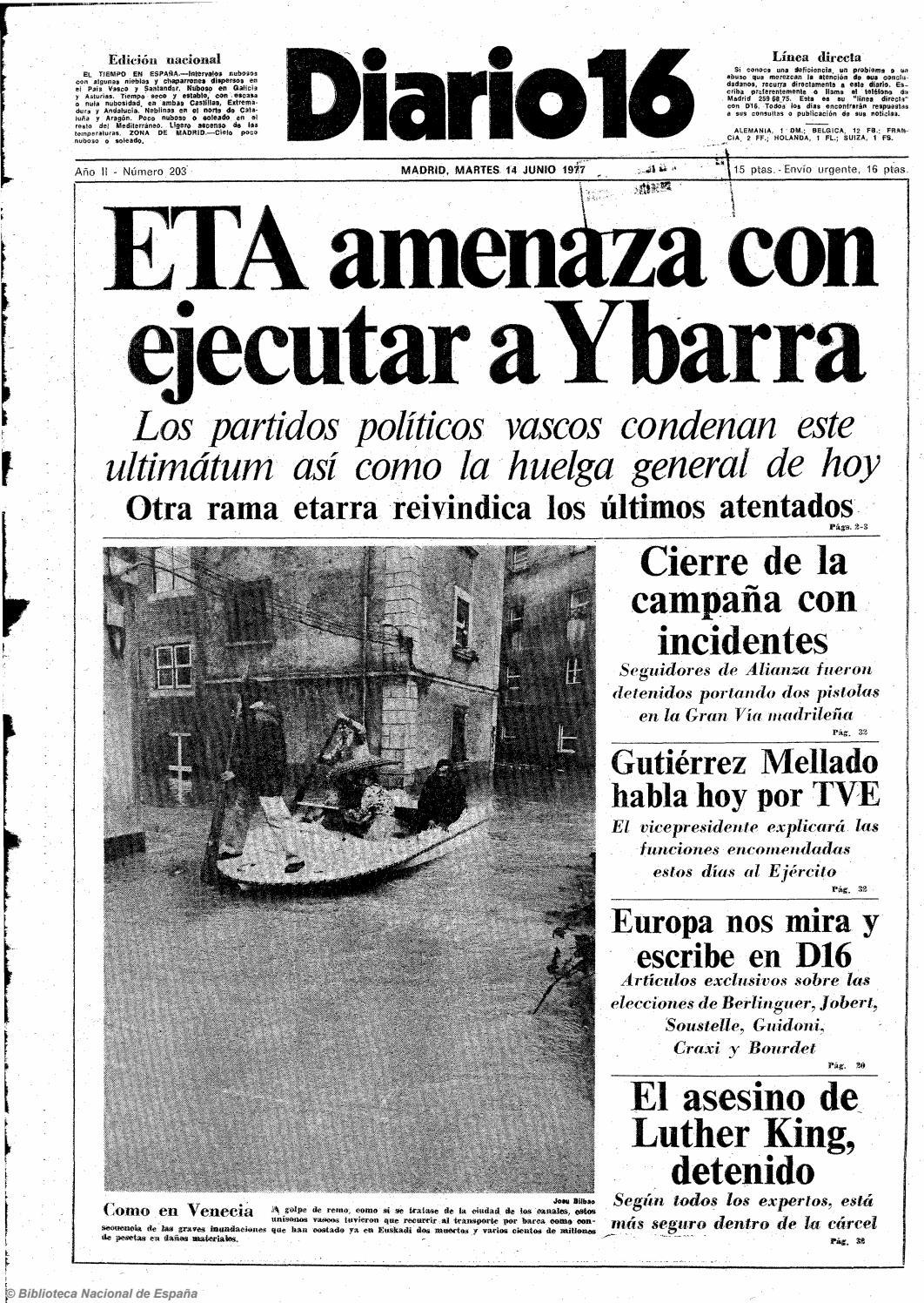 7b65ce9b2b Diario 16. 14-6-1977 by diario16deburgos - issuu