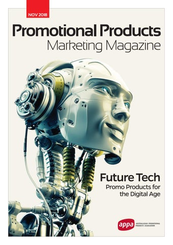 APPA Promotional Products Marketing Magazine November 2018 by