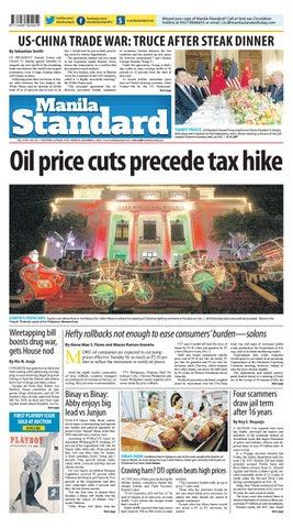 1aaf685727 Manila Standard - 2018 December 18 - Tuesday by Manila Standard - issuu