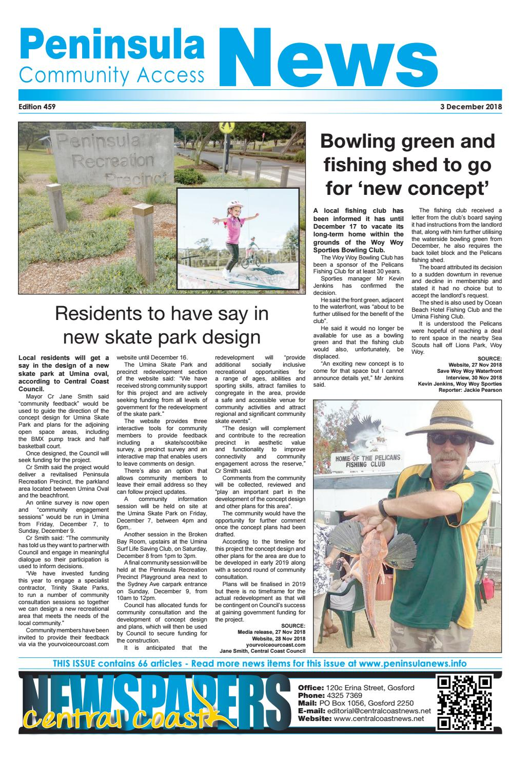 d50f56a43 Peninsula News 459 by Mark Snell - issuu