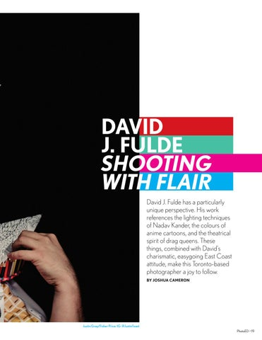 Page 19 of Cover Story: Shooting With Flair