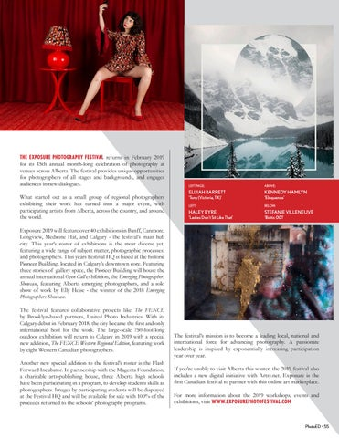 Page 55 of Exposure: An Alberta Celebration of Photography