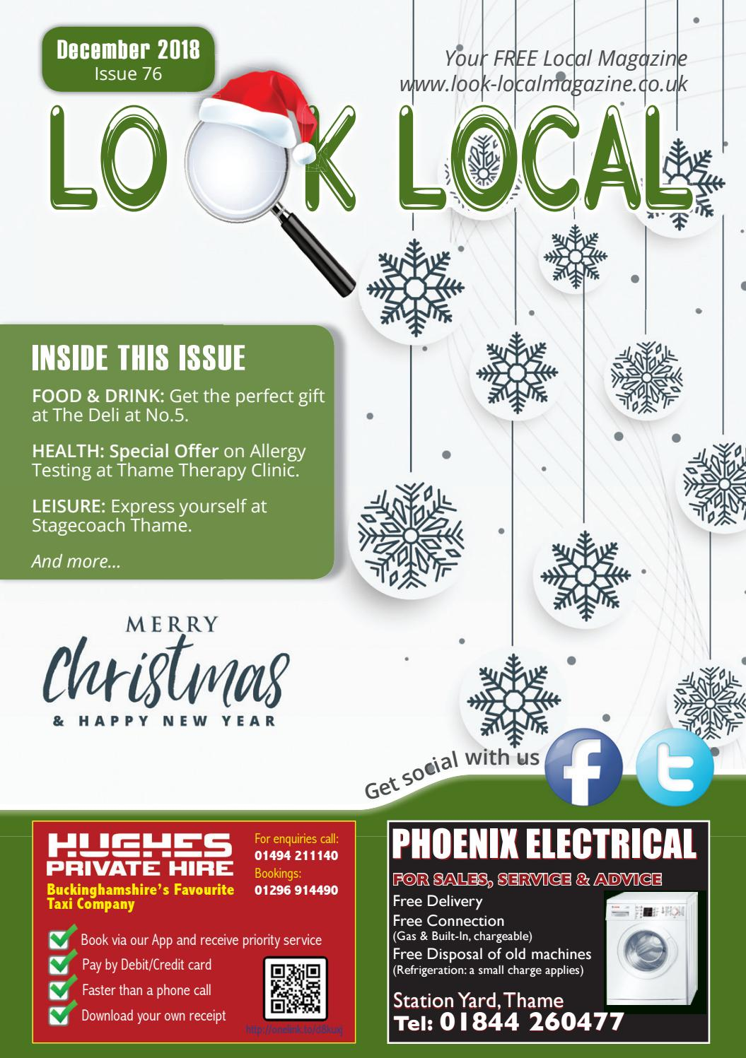 Look Local Magazine, December 2018 Edition, Issue 76 by Look