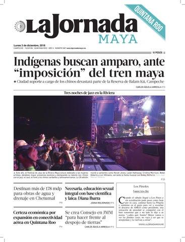 2bcb6d473 La Jornada Maya · lunes 3 de diciembre de 2018 by La Jornada Maya ...
