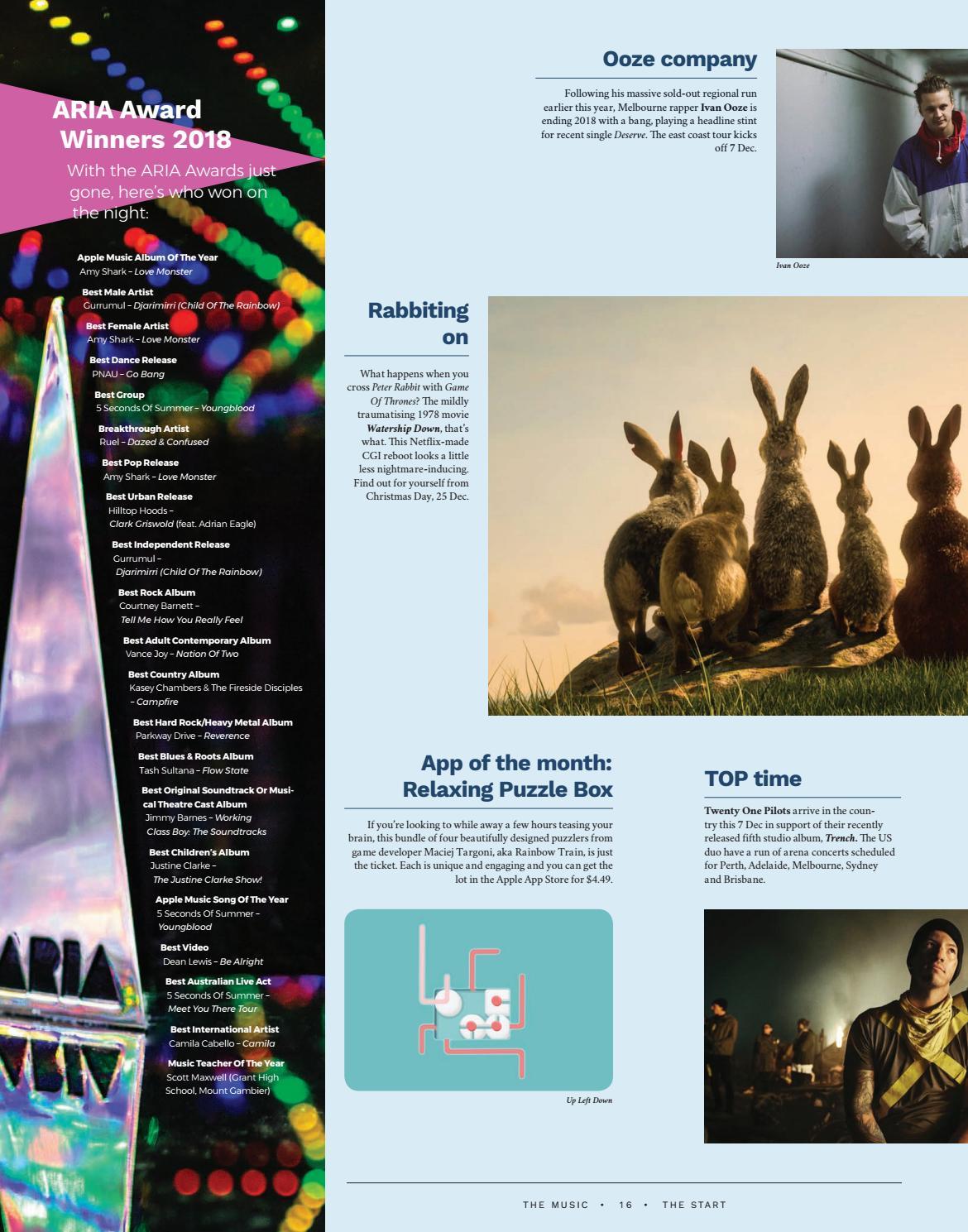 The Music (Brisbane) December Issue