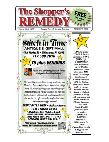 The Shopper s Remedy - December 2018 by Robin Noll - issuu dee6d9d8fe33