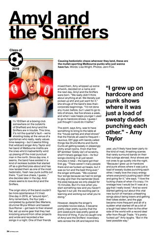 Page 34 of Class of 2018: Amyl and the Sniffers