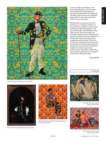 Page 5 of Kehinde Wiley: Saint Louis Art Museum