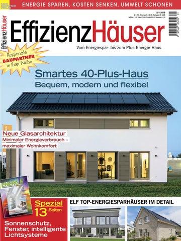 GroBartig EffizienzHäuser 12/1 2019 By Fachschriften Verlag   Issuu