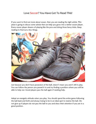 Soccer Cleats Reviews| Indoor Soccer