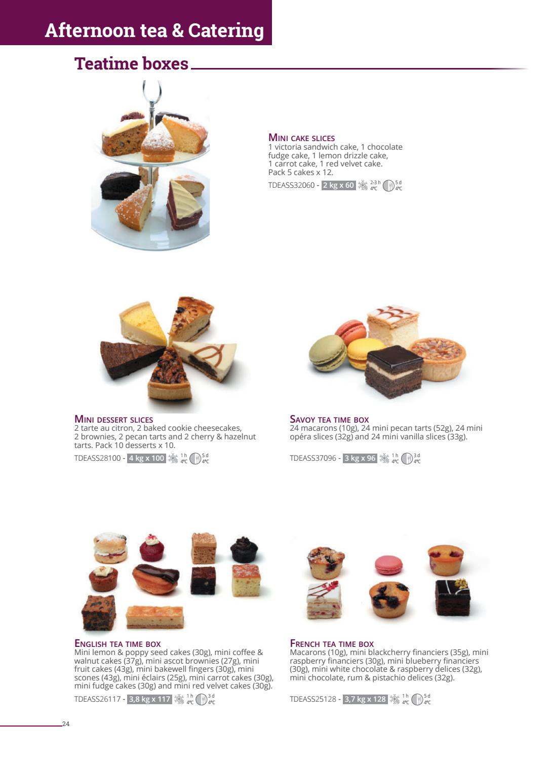 Catalogue 2018 Angleterre by La Compagnie des Desserts - issuu