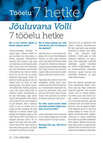 Page 38 of Jõuluvana Volli tööelu seitse hetke