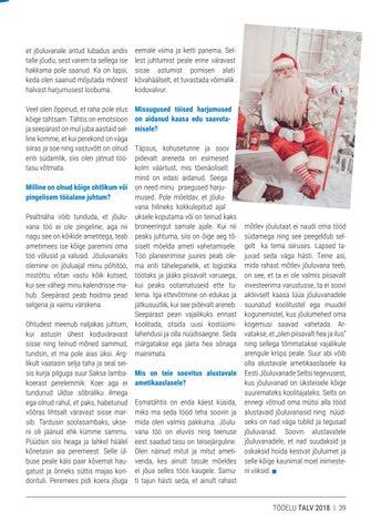 Page 39 of Jõuluvana Volli tööelu seitse hetke