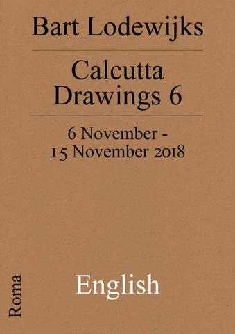 Calcutta Drawings 6 English by Roma Publications - issuu
