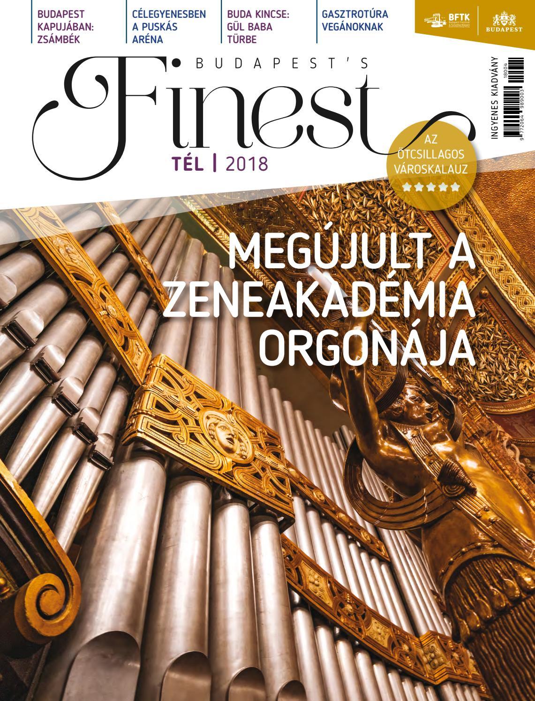 0951194c7c Budapest's Finest 2018 Tél by BFTK NONPROFIT KFT - issuu