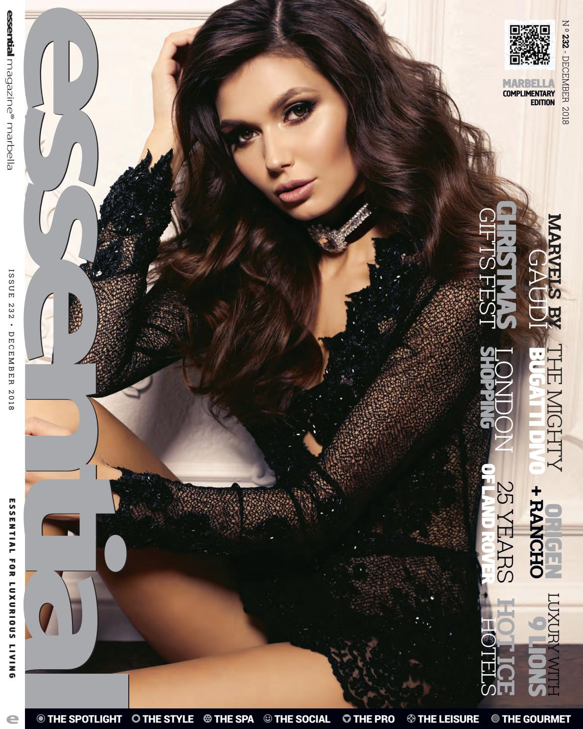 Alma Concepcion Hot essential magazine december 2018publicaciones