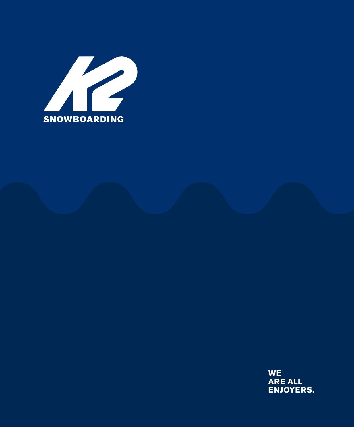 6c1473021e297 K2 Snowboard 2019 Eng Catalog Lq by snowsport snowsport - issuu