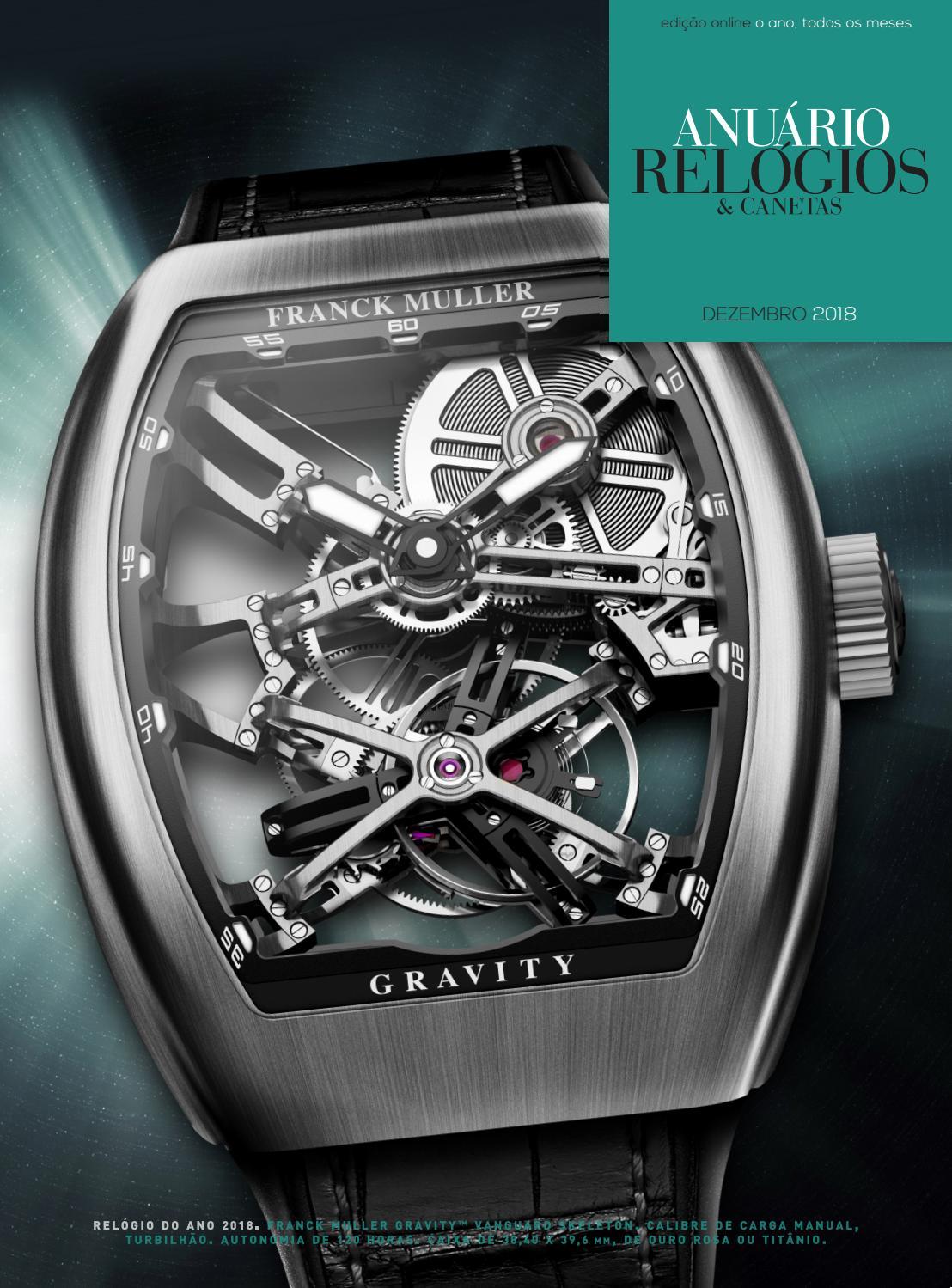 1c89d6d1123 Anuário Relógios   Canetas - Dezembro 2018 by Anuário Relógios   Canetas -  issuu