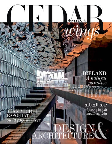 Cedar Wings magazine. Design   Architecture. December 2018 - January ... 68f4c5bb32b5