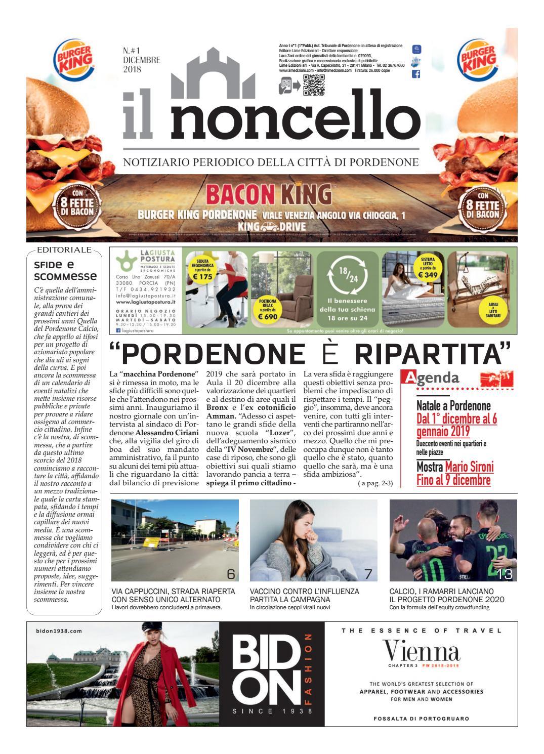 Ilnoncello Notiziario Di Pordenone By Lime Edizioni Milano Issuu
