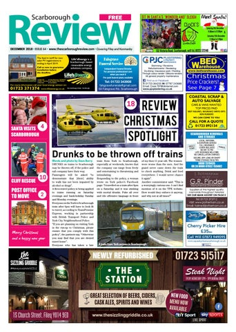 Scarborough Review December 2018 By Your Local Link Ltd Issuu