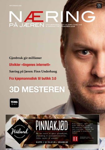 bf5aa382 Næring på Jæren 6-2018 by Lokomotiv Media - issuu