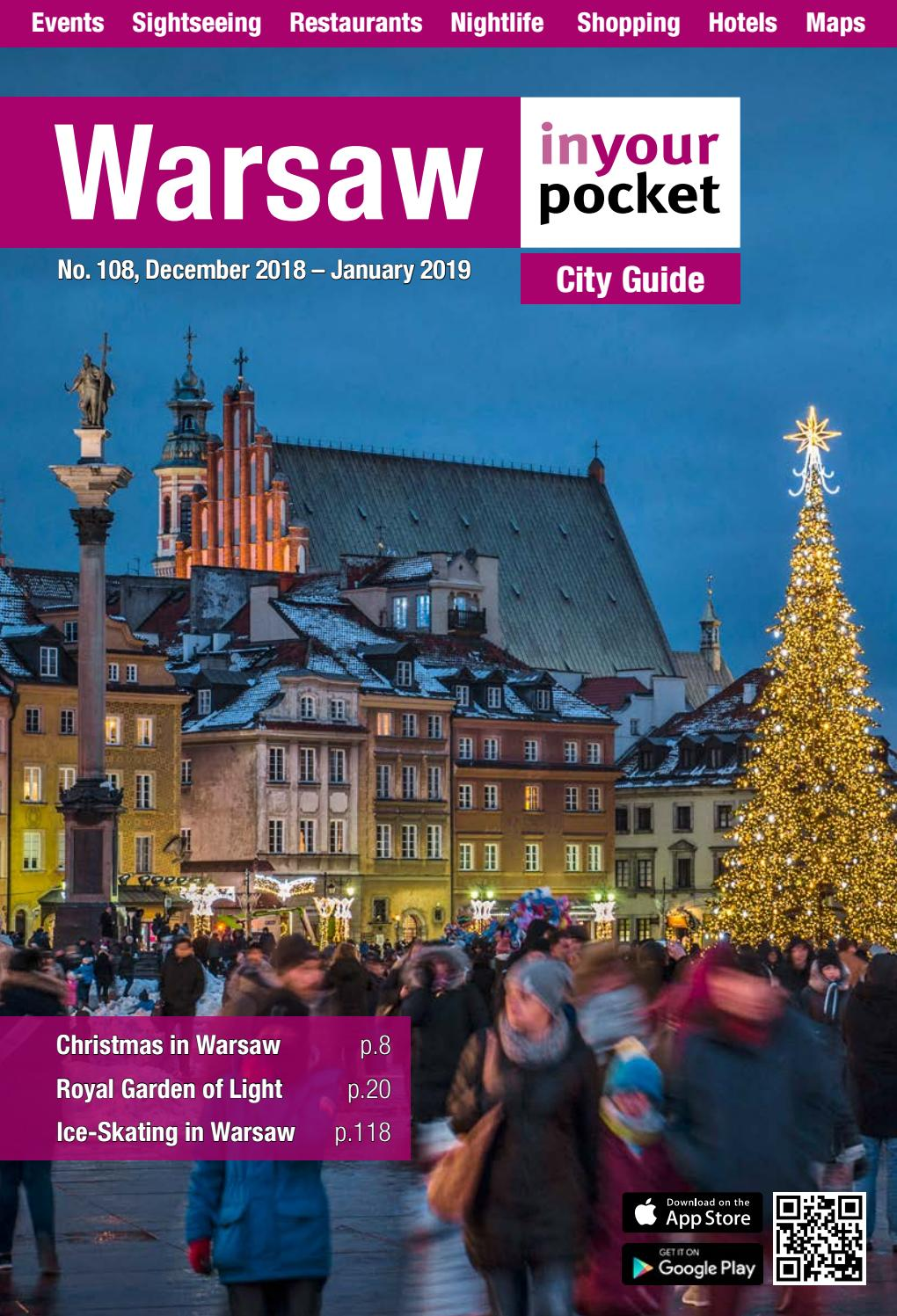 Warsaw In Your Pocket December 2018 January 2019 by