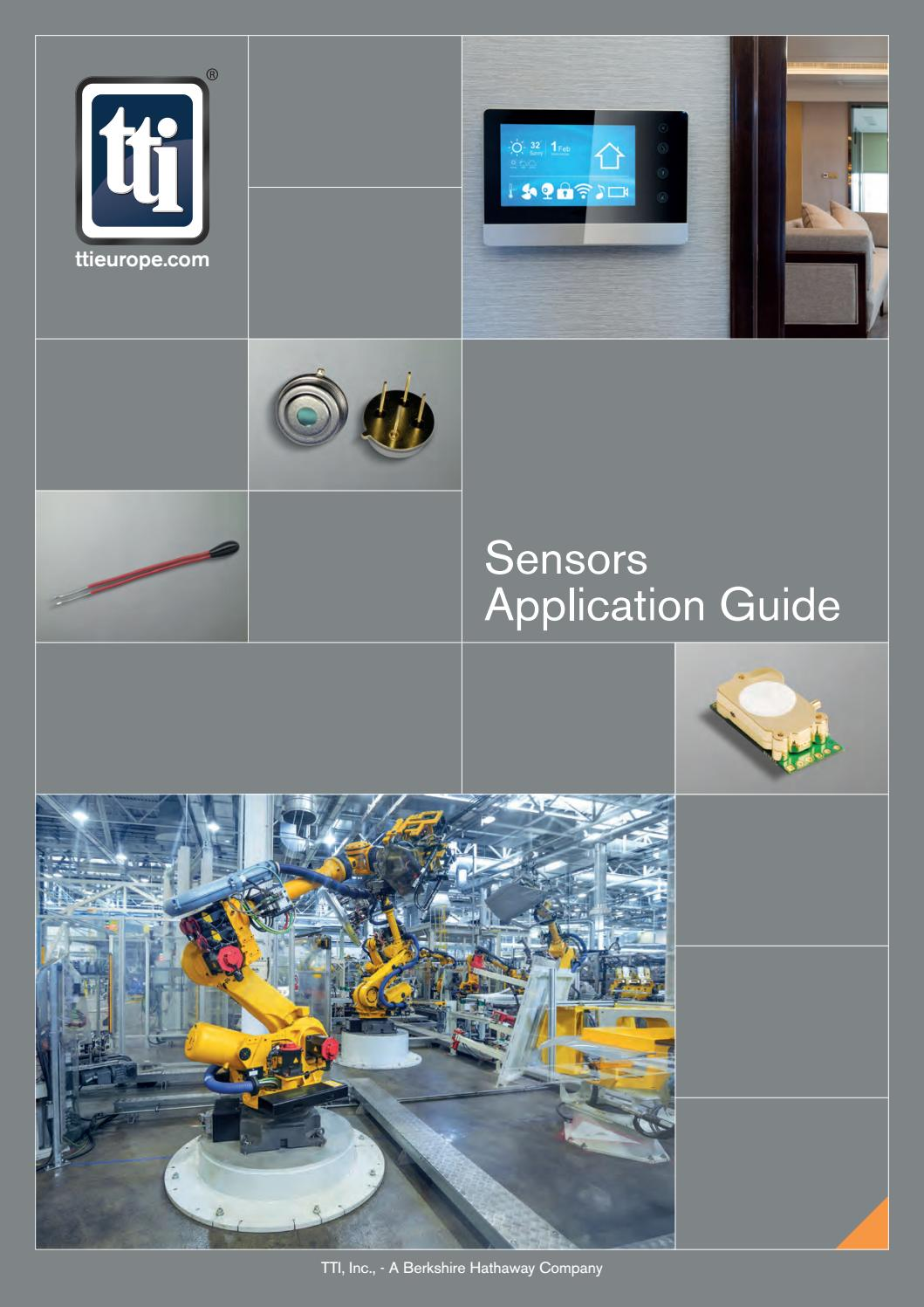 Sensors Application Guide By Tti Inc Issuu Spstno 40 Amp 100 Vdc Typical Condition