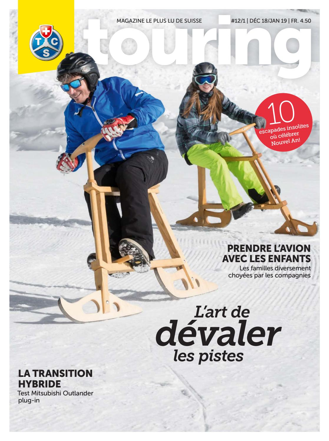 Touring 12   2018   1   2019 français by Touring Club Schweiz Suisse  Svizzera Switzerland - issuu dbbd914ce269