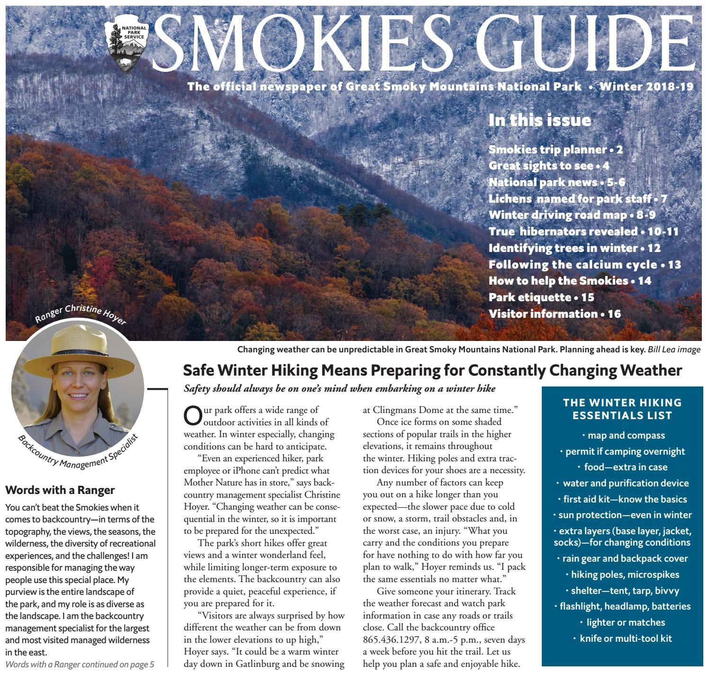 Smokies Guide Winter 2018-19 by GSMA - issuu