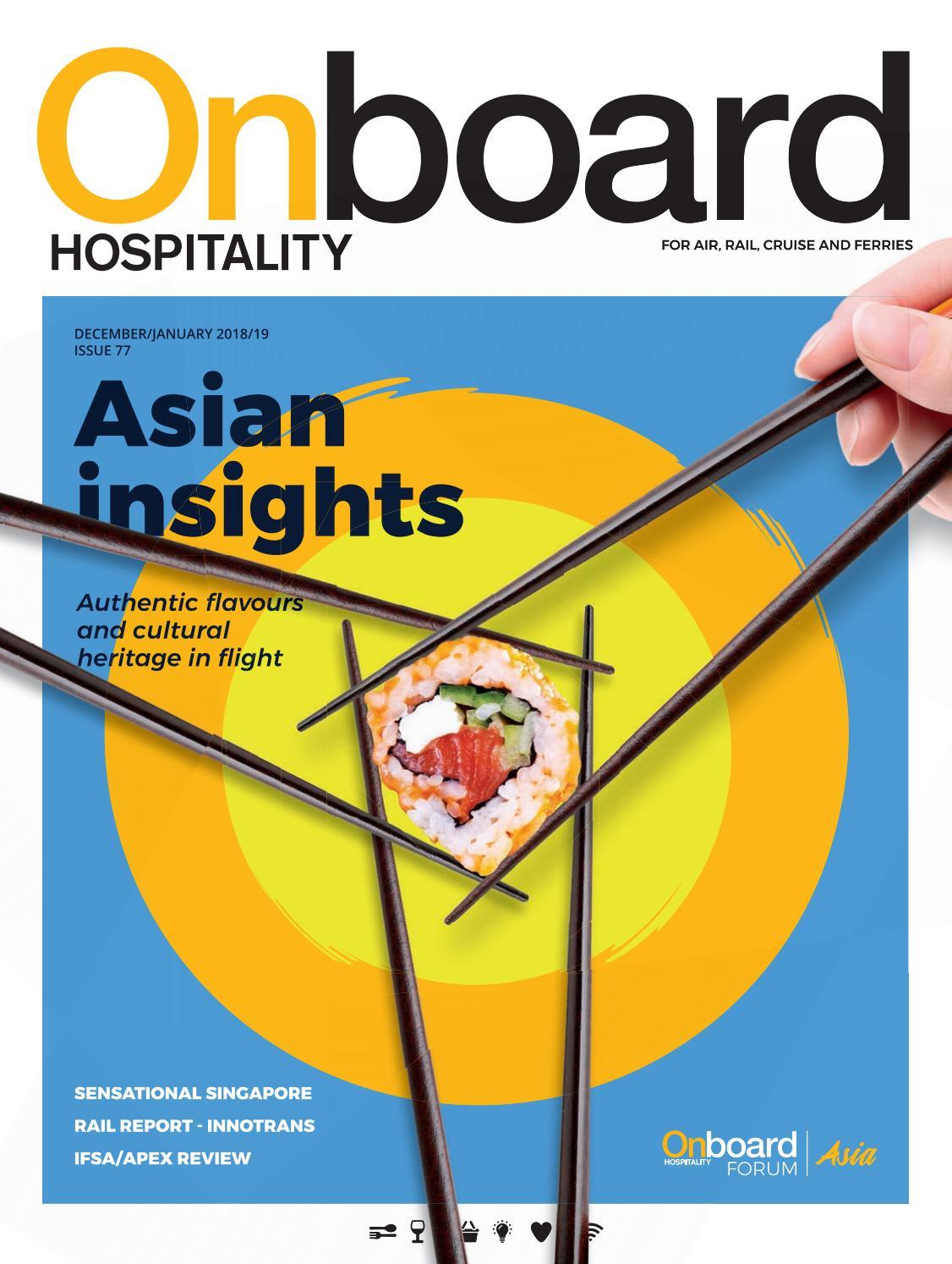 Onboard Hospitality 77 Decemberjanuary 2018 By Bmi Publishing Ltd